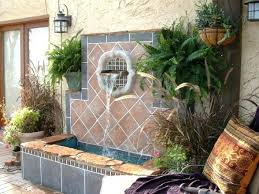 large wall fountain fanciful outdoor fountains decoration