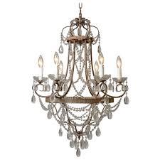 brushed bronze crystal chandelier designs