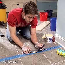 repair and reglue sheet vinyl floors
