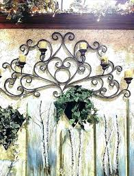 large outdoor wall art sun wrought iron decor beautiful w canvas
