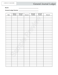 excel general ledger simple ledger template account book accounting excel general