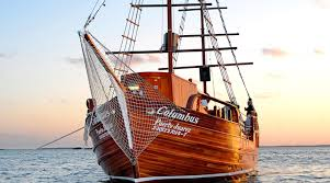 Spanish Galleon Lobster Dinner Sail in ...