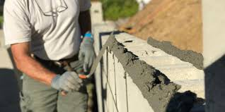 how to build a concrete block wall part 2