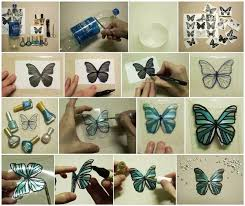 Decorated Plastic Bottles Make Butterfly Decorations Using Plastic Bottles Find Fun Art 67