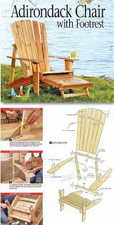 these simple and functional adirondack chairs plans are affordable colorful and especially easy to build with these detailed ideas and from lowe s