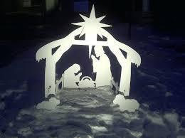 outdoor nativity sets costco