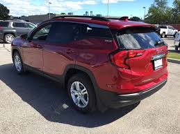 2018 gmc red. contemporary red red quartz tintcoat 2018 gmc terrain left rear corner photo in oshawa on inside gmc red