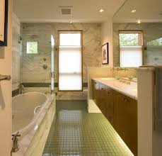 Led Strip Lights Under Cabinet Bathroom Contemporary With Carara