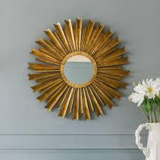 gold sunburst mirror. Fair Gold Sunburst Mirror