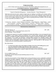 Project Manager Resume Sample New Assistant Bank Manager Resume Best