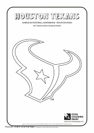 Nfl Logo Coloring Pages Lovely Houston Texans Coloring Pages Houston
