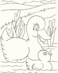 Small Picture Animals and Their Babies Coloring Pages Coloring Pages