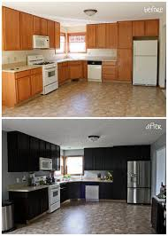 staining kitchen cabinets darker elegant diy cabinet makeover with link to diy from ing to