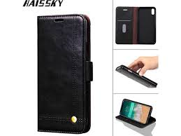 haissky vintage leather phone case for iphone 8 7 7 plus 6 6s plus 5 5s