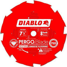 7 1 4 in x 8 tooth pcd tipped flooring blade