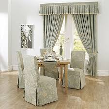 dining room chair slipcovers with long dining room chair covers with