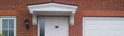 front door canopy over porch canopies uk in inspirations 0
