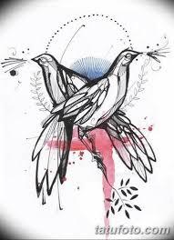 эскизы тату птиц для девушек 08032019 007 Tattoo Sketches