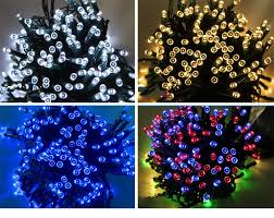 Colorful Awesome Solar Led String Lights Outdoor Garden Lights
