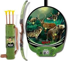 Emob Bow Hunting Archery Set Sport Toy with <b>Automatic LCD</b> ...