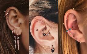 Piercings En La Oreja 50 Estilos Tipos Y Tendencias Para Un Look