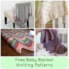 Free Knitting Patterns For Baby Blankets Magnificent Decorating