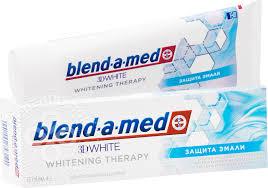 Купить <b>Зубная паста Blend</b>-a-<b>med</b> 3D White Защита Эмали 75мл ...