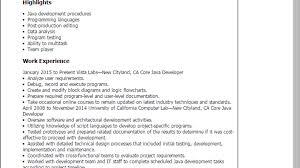Professional Core Java Developer Templates To Showcase Your