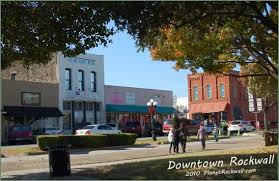downtown rockwall historic square