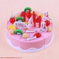 Kids Toys 37pcs Kitchen Toys Baby Boys Girls Birthday Cake Toy Diy
