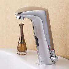 motion sensor faucet. Benham Hands Free Touchless Chrome Bathroom Sink Faucet With Motion Sensor 1