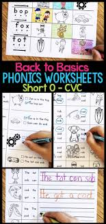 Download phonics cvc words worksheets and use them in class today. Short O Phonics Worksheets Short O Cvc Words