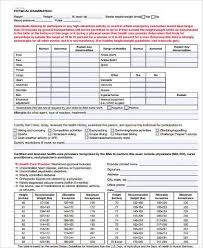 Boy Scout Medical Form Extraordinary Sample Boy Scout Physical Forms 48 Free Documents In Word PDF