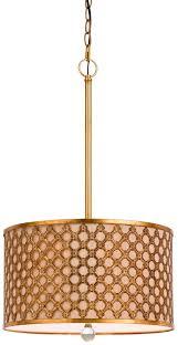 creative of gold drum pendant light antique gold fabric drum pendant light lamp shade pro