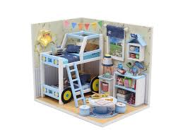 <b>Сборная модель DIY House</b> MiniHouse Комната мальчишек M019 ...