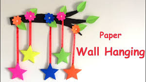 Home Decoration Diy Wall Hanging From Paper Paper Craft Card Board Craft