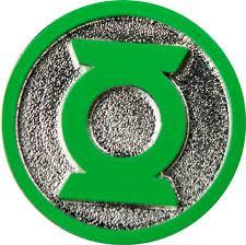Green Lantern - Logo Colour Enamel Lapel Pin - Retrospace