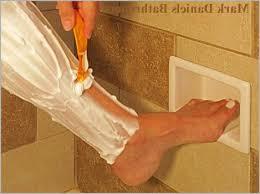 shower foot rest corner shower foot rest chrome