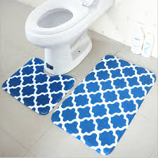 bathroom carpet. bath mat set 2 pieces 100% polyester non slip bathroom carpet and toliet rugs 37