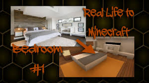 Minecraft Bedroom In Real Life Minecraft Real Life To Minecraft Bedroom 1 Youtube