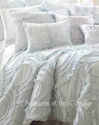 vintage cottage waves of ruffles queen quilt pillow shams from 239 95