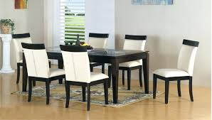 Modern Rectangle Dining Table Fancy White Modern Dining Set Sets In