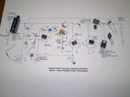 solar boost converter mppt charger controller schematics of boost topology and diy solar booster circuit