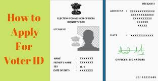 how to apply for voter id doents