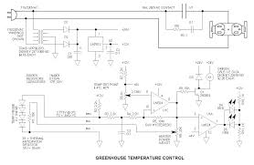greenhouse heater temperature control project greenhouse temperature control circuit schematic