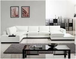 White Sectional Living Room Furniture Elegant White Sectional Sofa In Cozy Living Room This