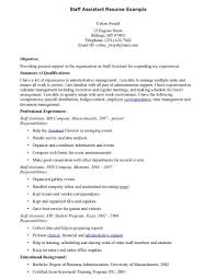 staff assistant resume with images large size - Staff Assistant Resume