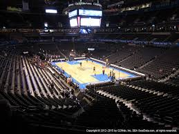 Chesapeake Energy Arena View From Club Level 218 Vivid Seats