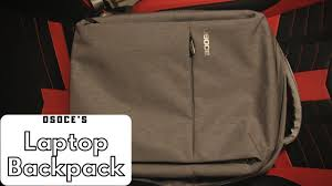 Best <b>Laptop</b> Backpack for Travel?!? (<b>OSOCE's Laptop</b> Backpack ...