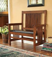 arts crafts mission style garden furniture furniture in style